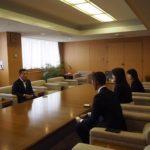 枝広市長にお会いしてきましたっ!