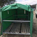 資材テントのレンタル