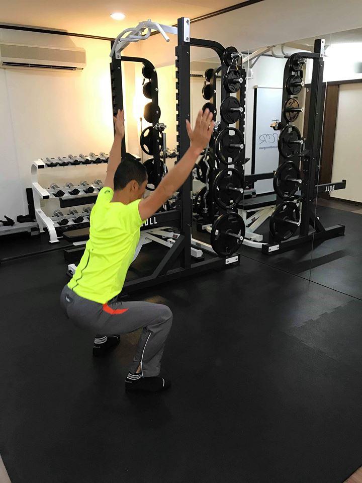 福山市体幹トレーニング