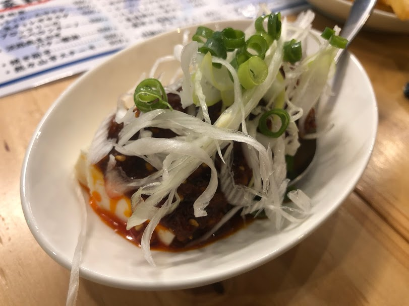 冷たい麻婆豆腐