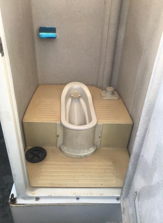 中古仮設トイレ
