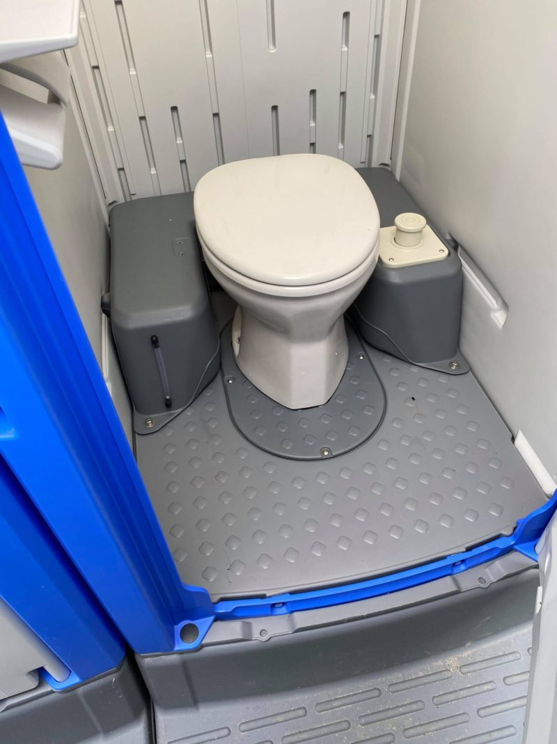 中古仮設トイレ洋式